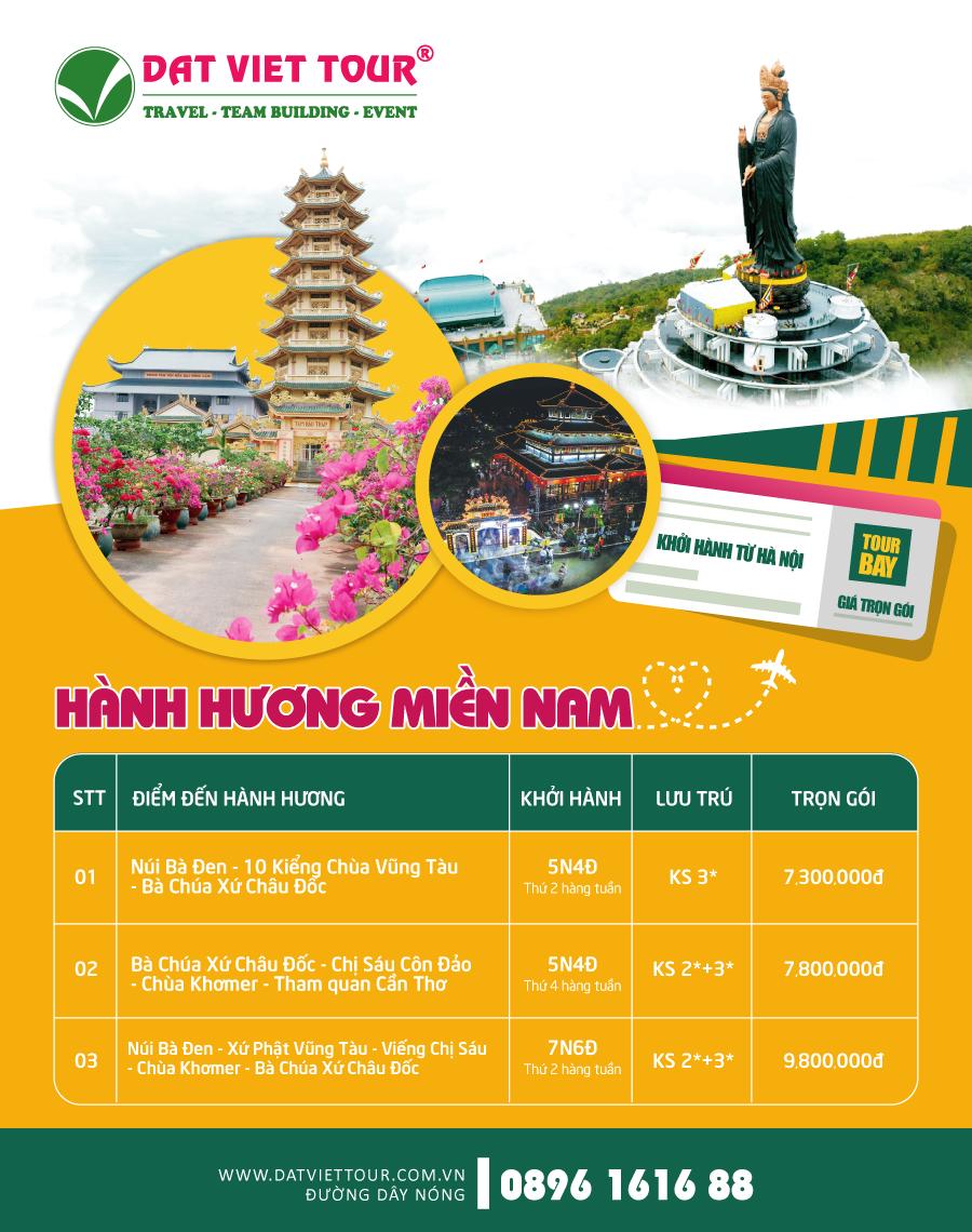 Tour Châu Đốc